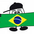 Stock Photo: Eierkopf - Welcome Brazil