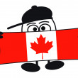 Stock Photo: Eierkopf - Welcome Canada