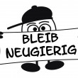 Stock Photo: Eierkopf - Bleib neugierig