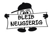 Eierkopf - Bleib neugierig — Stock Photo