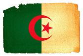 Bandiera sgangherata - algeria — Foto Stock