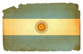 Grungy Flag - Argentina — Stock Photo