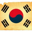 Grungy Flag - South Korea — Foto Stock #12636216