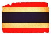 汚れた旗 - タイ — ストック写真