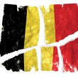 Stock Photo: Grungy Flag - Belgium