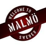 Welcome to Malmö — Stock Photo #13948921