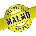 Welcome to Malmö — Stock Photo #13948958