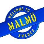 Welcome to Malmö — Stock Photo #13949009
