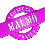 Welcome to Malmö — Stock Photo #13949085