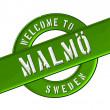 Welcome to Malmö — Stock Photo #13949112