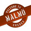 Welcome to Malmö — Stock Photo #13949144