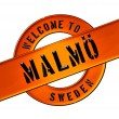 Stock Photo: Welcome to Malmö