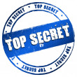 Stock Photo: New Stamp - Top Secret
