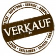 New Stamp - Verkauf — Stock Photo #32906101