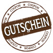 New Stamp - Gutschein — Stock Photo #32917599