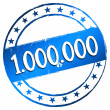 New Stamp - 1.000.000 — Stockfoto #32918005