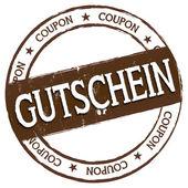 New Stamp - Gutschein — Stock Photo