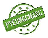 Stamp - Pyeongchang — Stock Photo