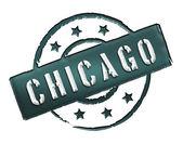 Stamp - Chicago — Stock Photo