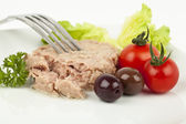 Tuna meal — Stock Photo