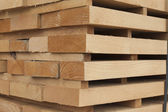 Wooden beams — Stock Photo