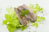 Mackerel fillets — Stock Photo
