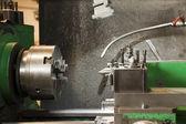 Metal lathe — Stock Photo