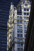 Buildings in Downtown Manhattan in New York City — Stock Photo