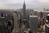 Aerial View Manhattan New York City — Stock Photo