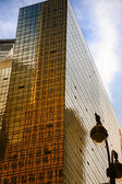 Světové finanční centrum panorama, dolní manhattan — Stock fotografie