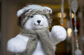 Noel oyuncak ayı — Stok fotoğraf