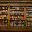 Stock Photo: Library of old books