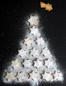 Star Christmas Tree — Stock Photo