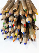 The pencils in color — 图库照片