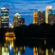 Atlanta midtown skyline - Stock Photo
