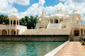 индуистский храм в атланта, ga — Стоковое фото