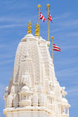 Tower at Hindu temple in Atlanta — Stock Photo