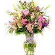 Colorful florist-made floral flower arrangement bouquet — Foto de Stock   #12395219