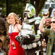 Battlestar Galatica fans march in the annual DragonCon parade — Stock Photo