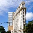 Atlanta Flatiron Building — 图库照片