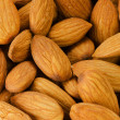 Stock Photo: Pile of almonds close-up