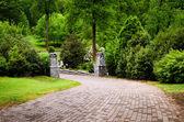 Trail at Grant Park in Atlanta — Stock Photo