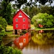 Starr's Mill, a historic landmark near Atlanta, Georgia — Foto Stock