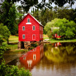 Starr's Mill, a historic landmark near Atlanta, Georgia — Stock Photo