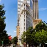 Flatiron building in downtown Atlanta — Stock Photo