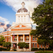 Historic Morgan County Courthouse in Madison, Georgia — Stock Photo
