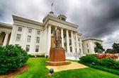Blick auf state capitol in montgomery (alabama — Stockfoto