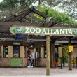 Stock Photo: Entrance to Zoo Atlanta