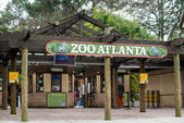 Entrance to Zoo Atlanta — Stock Photo
