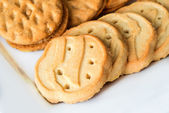 Close up of Girl Scout cookies — Stock Photo